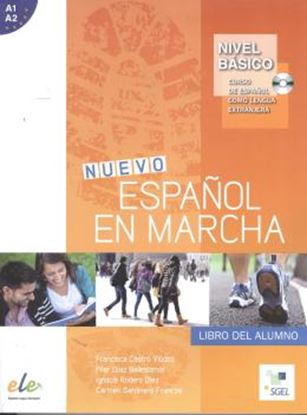 Imagem de NUEVO ESPANOL EN MARCHA BRASIL BASICO - ALUMNO + CD