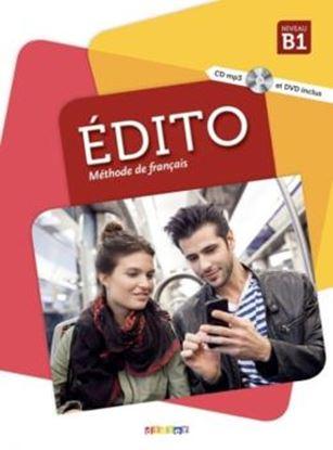 Imagem de EDITO B1 - LIVRE ELEVE + DVD-ROM - 2EME ED