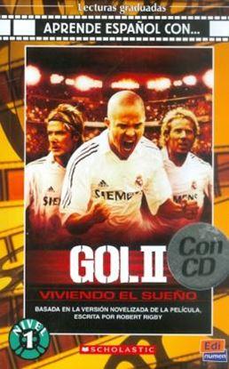 Imagem de GOL II - VIVIENDO EL SUENO - LIBRO + CD AUDIO