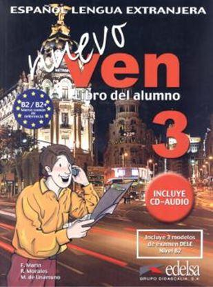 Imagem de NUEVO VEN 3 - LIBRO DEL ALUMNO + CD AUDIO