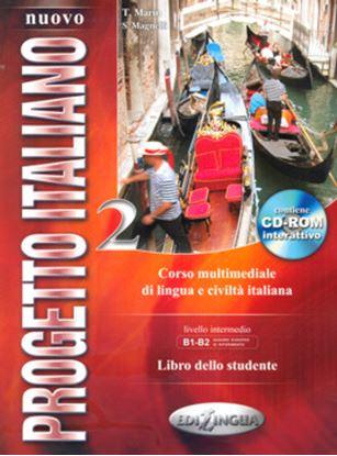 Imagem de NUOVO PROGETTO ITALIANO 2 - LIBRO DELLO STUDENTE + CD-ROM